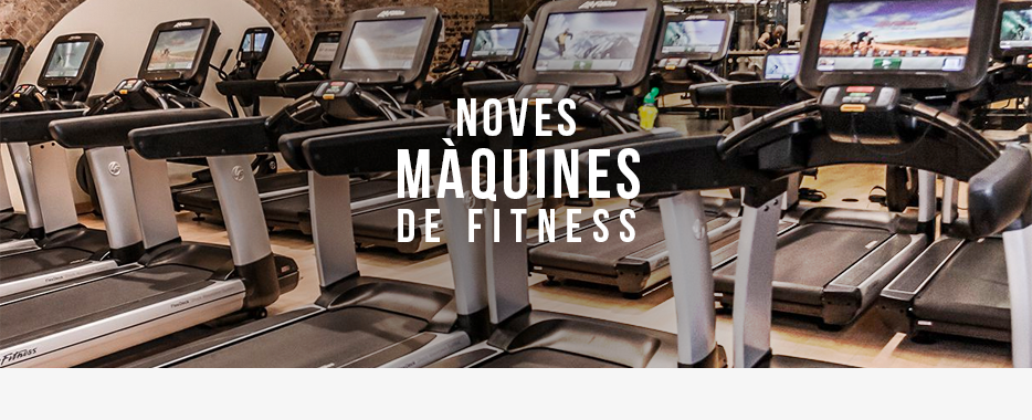 Noves maquines fitness